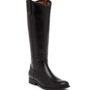 Frye | Melissa | Knee High Stud Boot | Black | 6